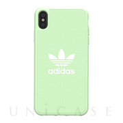 【iPhoneXS Max ケース】adicolor Moulded Case (Clear Mint)