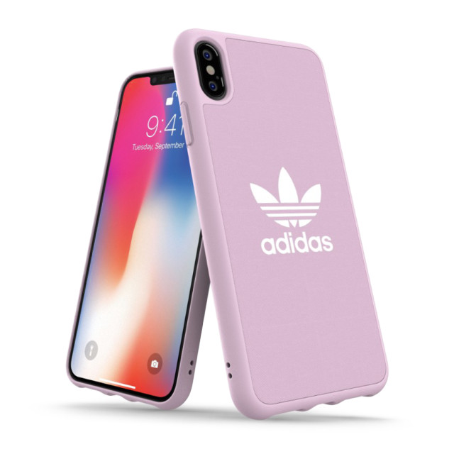 【iPhoneXS Max ケース】adicolor Moulded Case (Clear Pink)サブ画像