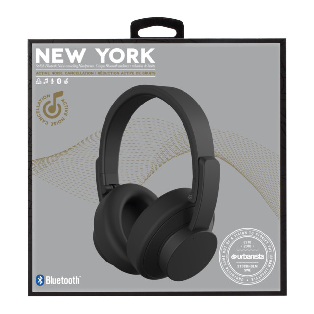 【ワイヤレスイヤホン】New York Noise Cancelling Bluetooth (Moon Walk)