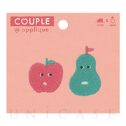 APPLIQUE COUPLE (FRUITSCHAN)
