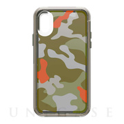 【iPhoneXS ケース】SLAM Series (WOODLAND CAMO)