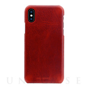 【iPhoneXS Max ケース】Badalassi Wax Bar case (レッド)