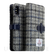 【iPhoneXS Max ケース】Harris Tweed D...