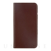 【iPhoneXS/X ケース】Barely There Folio (Brown)