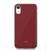 【iPhoneXR ケース】iGlaze (Merlot Red)