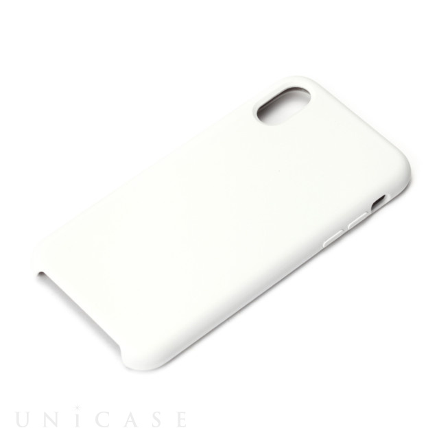 4aee48cae0 iPhoneXS/X ケース】シリコンケース ホワイト PGA   iPhoneケースは UNiCASE