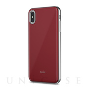 【iPhoneXS Max ケース】iGlaze (Merlot Red)
