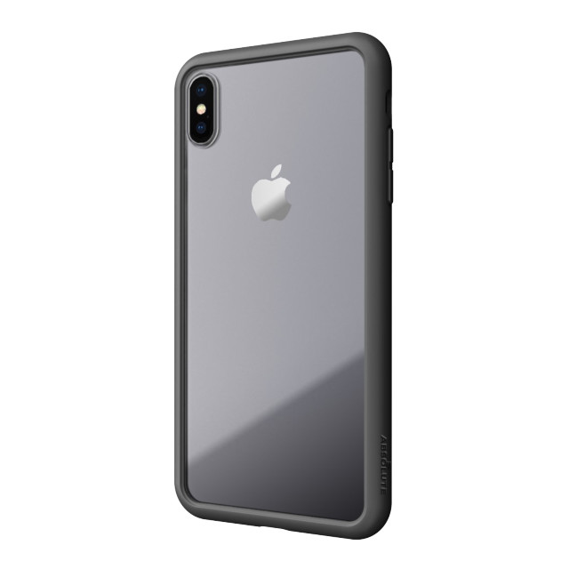 【iPhoneXS/X ケース】LINKASE AIR with Gorilla Glass (ブラック)