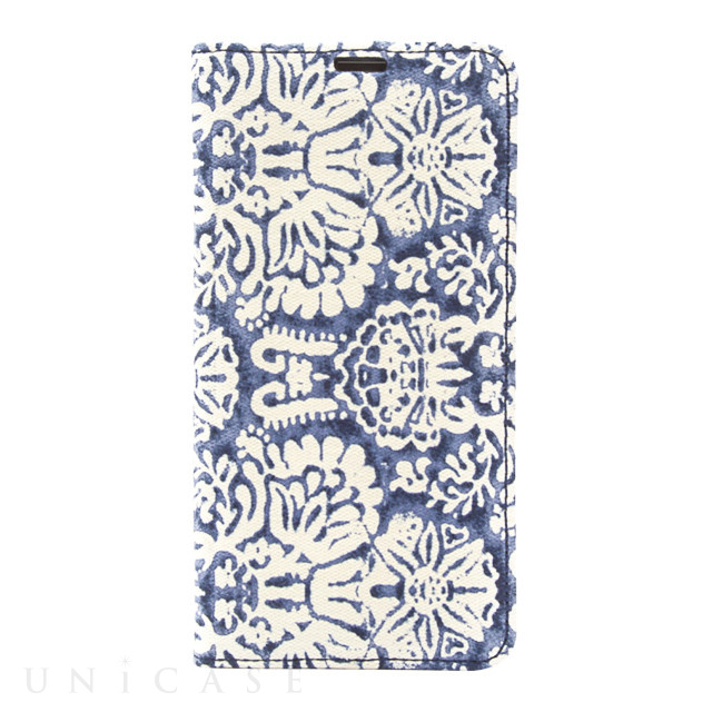 【iPhoneXR ケース】Denim Paisley Diary