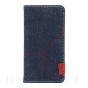 【iPhoneXS Max ケース】Denim Stitch Diary