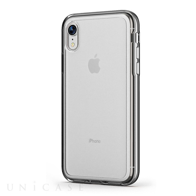 【iPhoneXR ケース】ACHROME SHIELD Premium CASE (クロームシルバー)