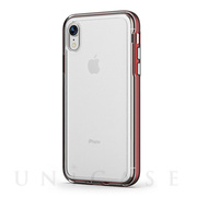 【iPhoneXR ケース】ACHROME SHIELD Premium CASE (マットレッド)