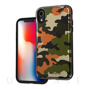 【iPhoneXR ケース】CAMO CARD FOLDING CASE (KHAKI)