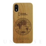 【iPhoneXR ケース】130th Anniversary case Nature Wood (チェリーウッド)