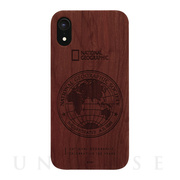 【iPhoneXR ケース】130th Anniversary case Nature Wood (ローズウッド)