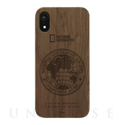 【iPhoneXR ケース】130th Anniversary case Nature Wood (ウォルナット)