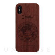 【iPhoneXS Max ケース】130th Anniversary case Nature Wood (ローズウッド)