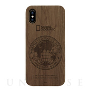 【iPhoneXS Max ケース】130th Anniversary case Nature Wood (ウォルナット)