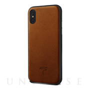 【iPhoneXS/X ケース】Alcantara (Brown...
