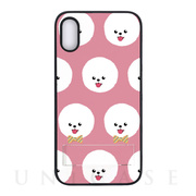 【iPhoneXR ケース】spirit case Fashionable Dog シリーズ (Bichon Frise)