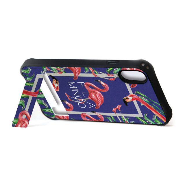 【iPhoneXR ケース】spirit case (FLAMINGO SQUARE ブルー)サブ画像
