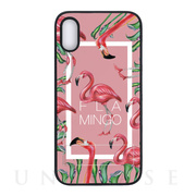 【iPhoneXR ケース】spirit case (FLAMINGO SQUARE ピンク)