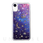 【iPhoneXR ケース】Sparkle case (Space)