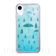 【iPhoneXR ケース】Sparkle case (Raining day)