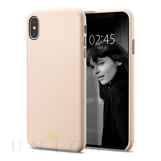 【iPhoneXS Max ケース】La Manon calin (Pale Pink)