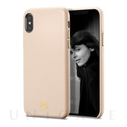【iPhoneXS/X ケース】La Manon calin (Pale Pink)