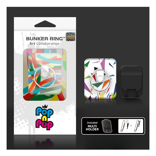 BUNKER RING Art Collaboration Limited Multi Holder Pac (Jung Anyong)サブ画像