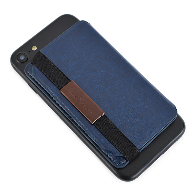 BACK CARD POCKET (Navy)サブ画像