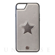 【iPhone8/7/6s/6 ケース】ONE STAR leatherケース (SV)