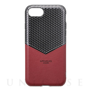 "【iPhone8/7/6s/6 ケース】""Edge"" Hybrid Case (Burgundy)"