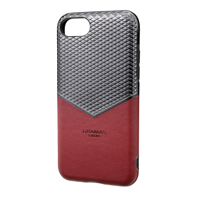 "【iPhoneSE(第2世代)/8/7/6s/6 ケース】""Edge"" Hybrid Case (Burgundy)"