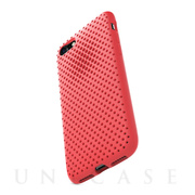 【iPhone8/7 ケース】Mesh Case (Bright Red)