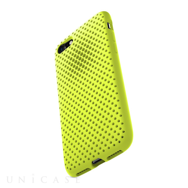 【iPhone8/7 ケース】Mesh Case (Lime Yellow)