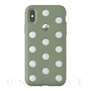 【iPhoneXS/X ケース】Layer Case (Clay Green)