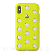 【iPhoneXS/X ケース】Layer Case (Lime Yellow)