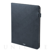 "【iPad Pro(12.9inch)(第3世代) ケース】""EURO Passione"" Book PU Leather Case (Navy)"