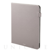 "【iPad Pro(12.9inch)(第3世代) ケース】""EURO Passione"" Book PU Leather Case (Gray)"