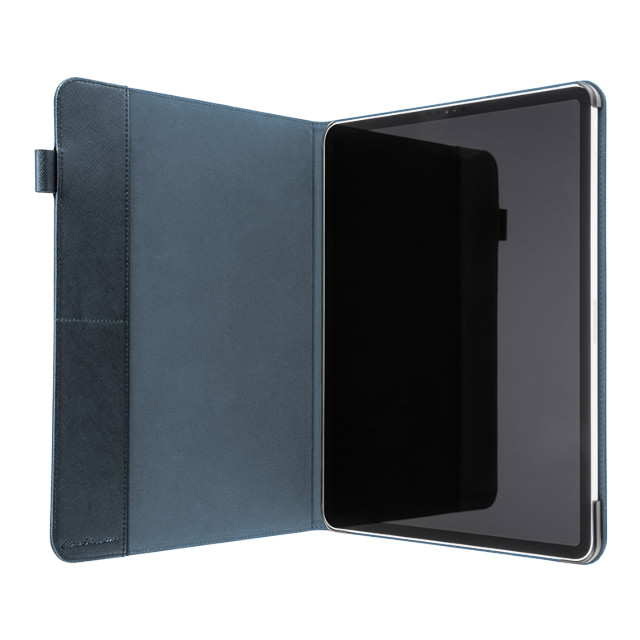 "【iPad Pro(12.9inch)(第3世代) ケース】""EURO Passione"" Book PU Leather Case (Navy)サブ画像"