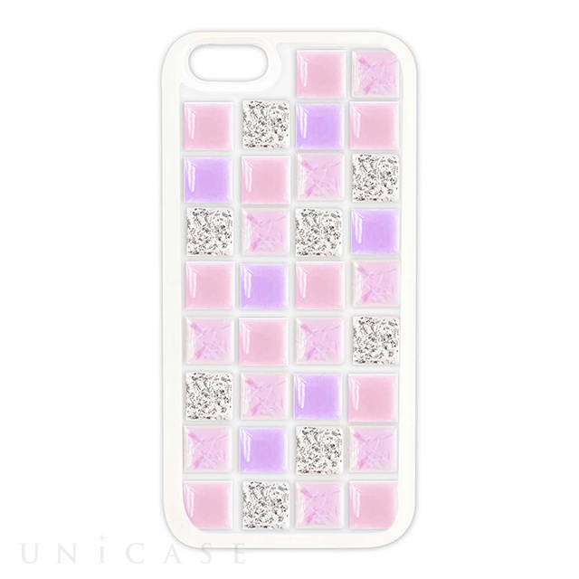 【iPhone8/7/6s/6 ケース】TILE CASE (tile_pink mix)