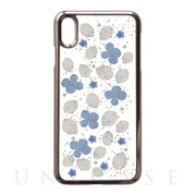 【iPhoneXS Max ケース】Pressed flower case (Clean flowers)