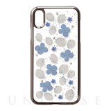 【iPhoneXS/X ケース】Pressed flower case (Clean flowers)