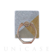 Smartphone ring (Gold Glitter)
