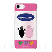 【iPhoneSE(第2世代)/8/7 ケース】BARBAPAPA TOUGH CASE × COLOR TPU (PINK STRIPES)