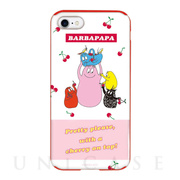 【iPhoneSE(第2世代)/8/7 ケース】BARBAPAPA TOUGH CASE × COLOR TPU (Cherry on top!)