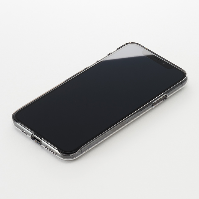 【iPhoneXS ケース】Air Jacket (Clear)