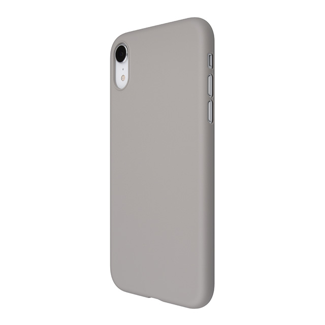 【iPhoneXR ケース】Air Jacket (Rubber Gray)